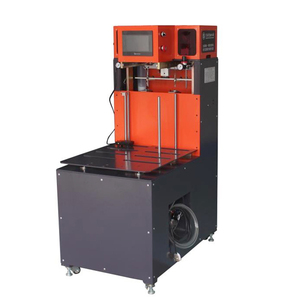 Automatic iron plate magnet machine