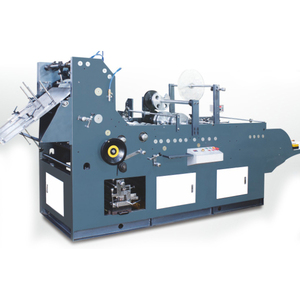 Full automatic peel & seal pocket envelope making machine