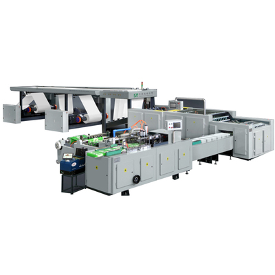 High-speed  Roll Copy Paper Cutting And Packaing  Machine